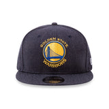 NBA Heather Golden State Warriors New Era 9Fifty Snapback Cap