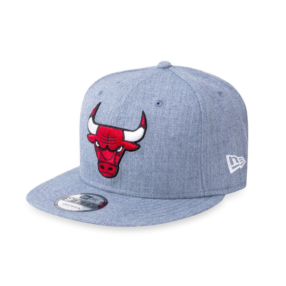 b29443ae NBA Heather Chicago Bulls New Era 9Fifty Snapback Cap – urban TEE