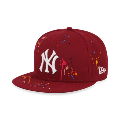 new products beaf5 6fd97 MLB Drips New York Yankees Cooperstown New Era 9Fifty Snapback Cap