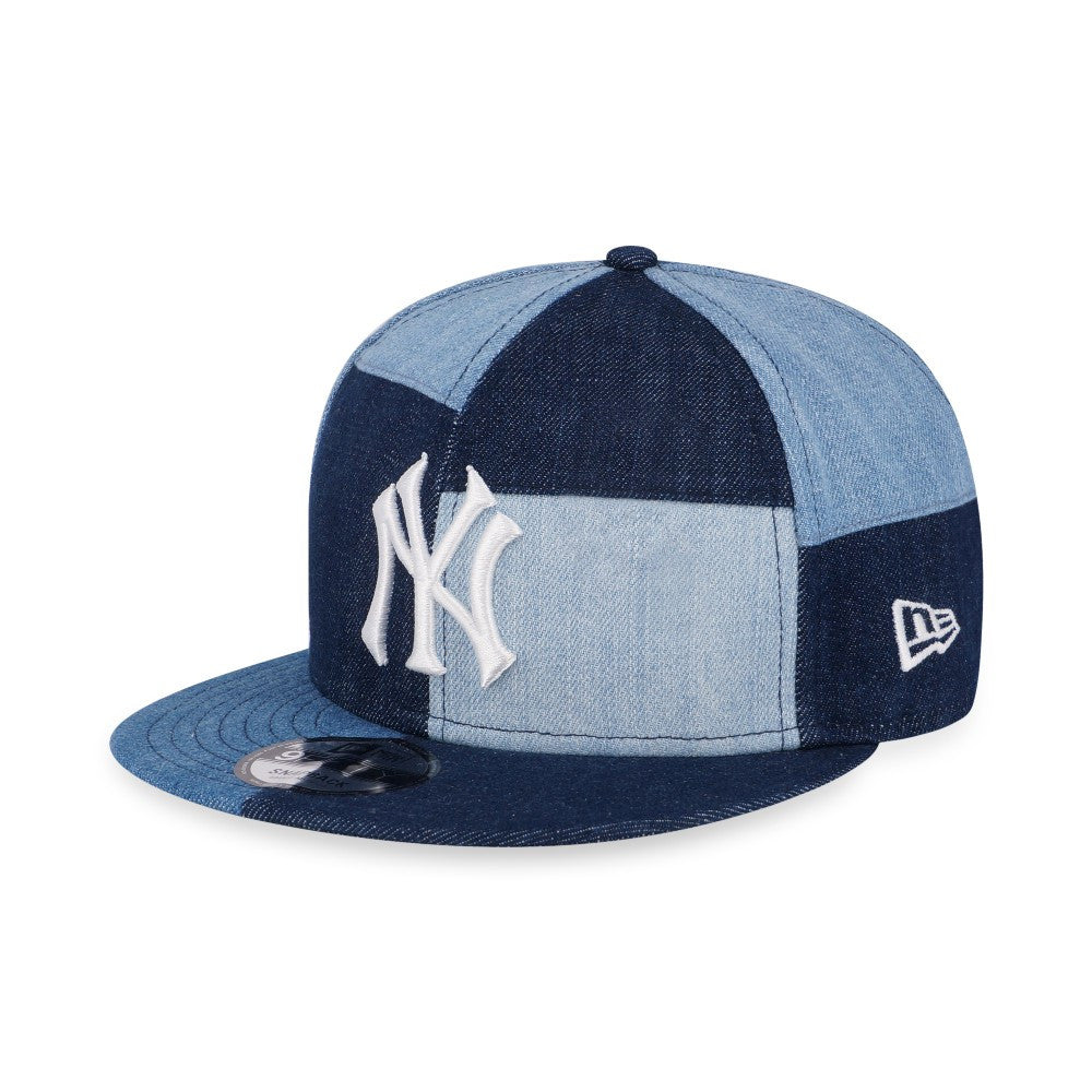 66e36d8cd1a MLB New York Yankees Denim Patch New Era 9Fifty Snapback Cap – urban TEE