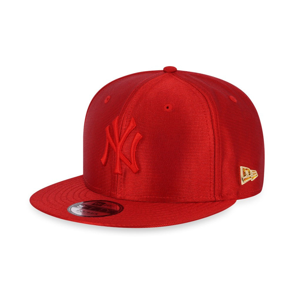 MLB New York Yankees Red Dazzle New Era 9Fifty Snapback Cap