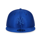 MLB New York Yankees Blue Dazzle New Era 9Fifty Snapback Cap