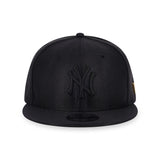 MLB New York Yankees Black Dazzle New Era 9Fifty Snapback Cap