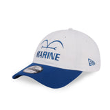 One Piece Marineford Marine White New Era 9Twenty Strapback Cap
