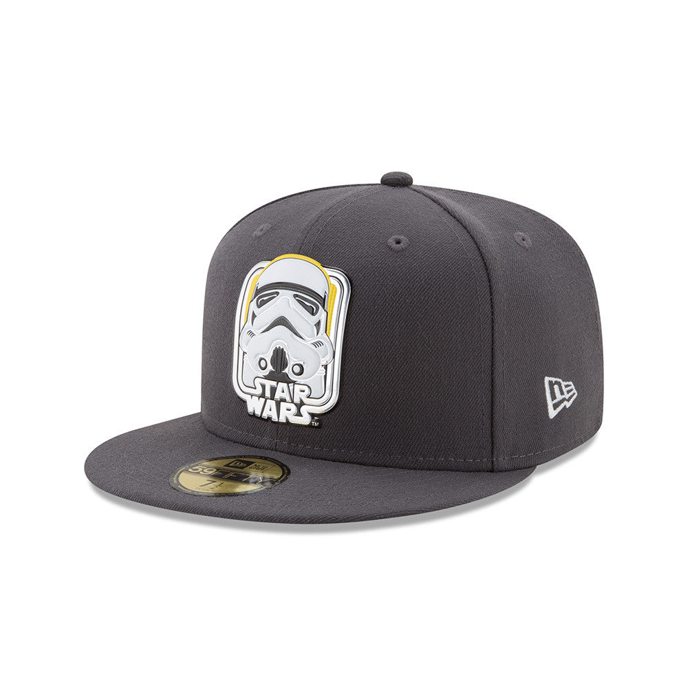 Star Wars 40th Anniversary Stormtrooper Liquid Chrome 59Fifty Fitted Cap