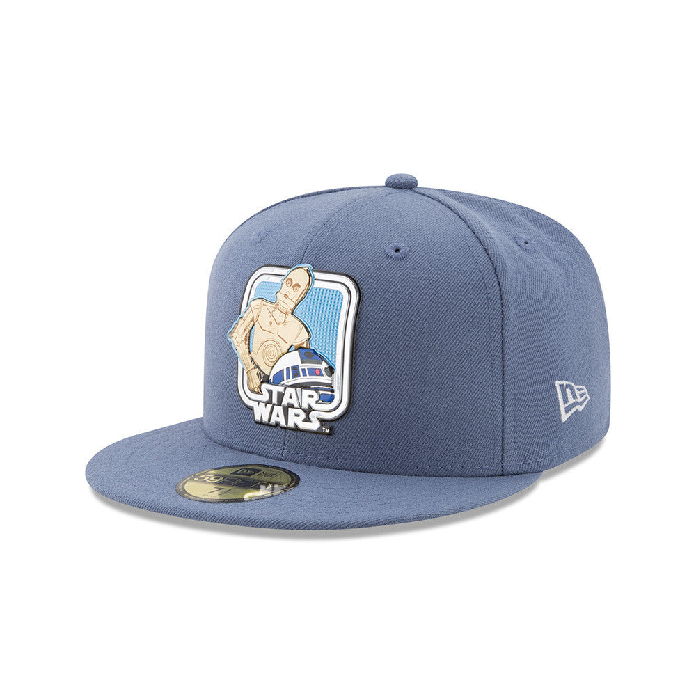 Star Wars 40th Anniversary Droids Liquid Chrome 59Fifty Fitted Cap