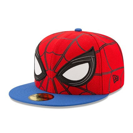 Marvel Spider-Man Homecoming Character Face New Era 59Fifty Fitted Cap