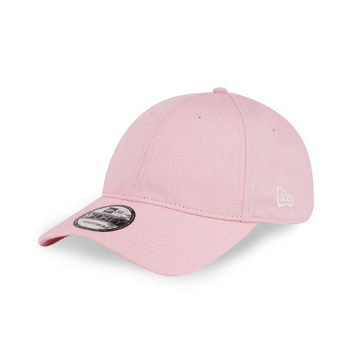 New Era Brand Languid Blank PINK 9Forty Strapback Cap