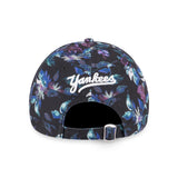 MLB New York Yankees Reconstructed Floral New Era 9Forty Strapback Cap
