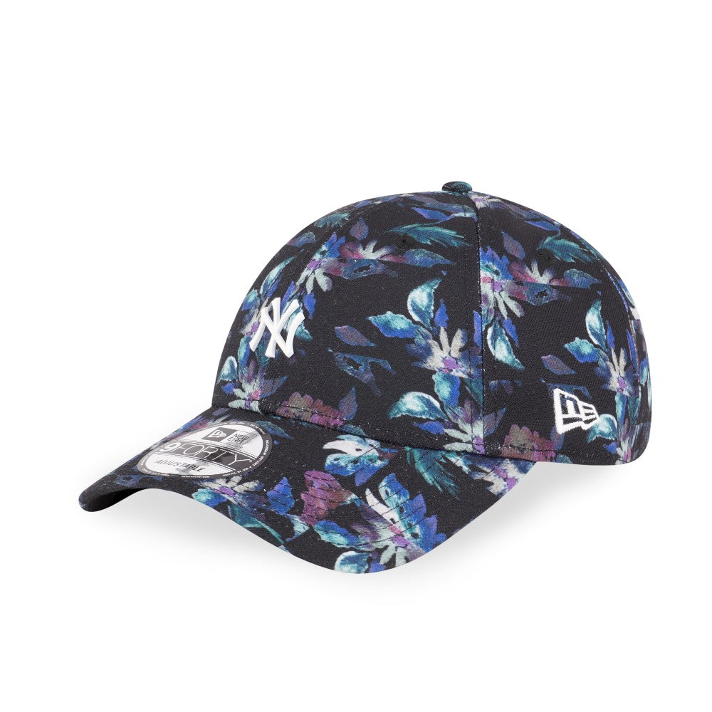 7e2eca792e8b5 MLB New York Yankees Reconstructed Floral New Era 9Forty Strapback Cap –  urban TEE