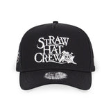 One Piece Straw Hat Crew Logo New Era 9Forty Snapback Cap