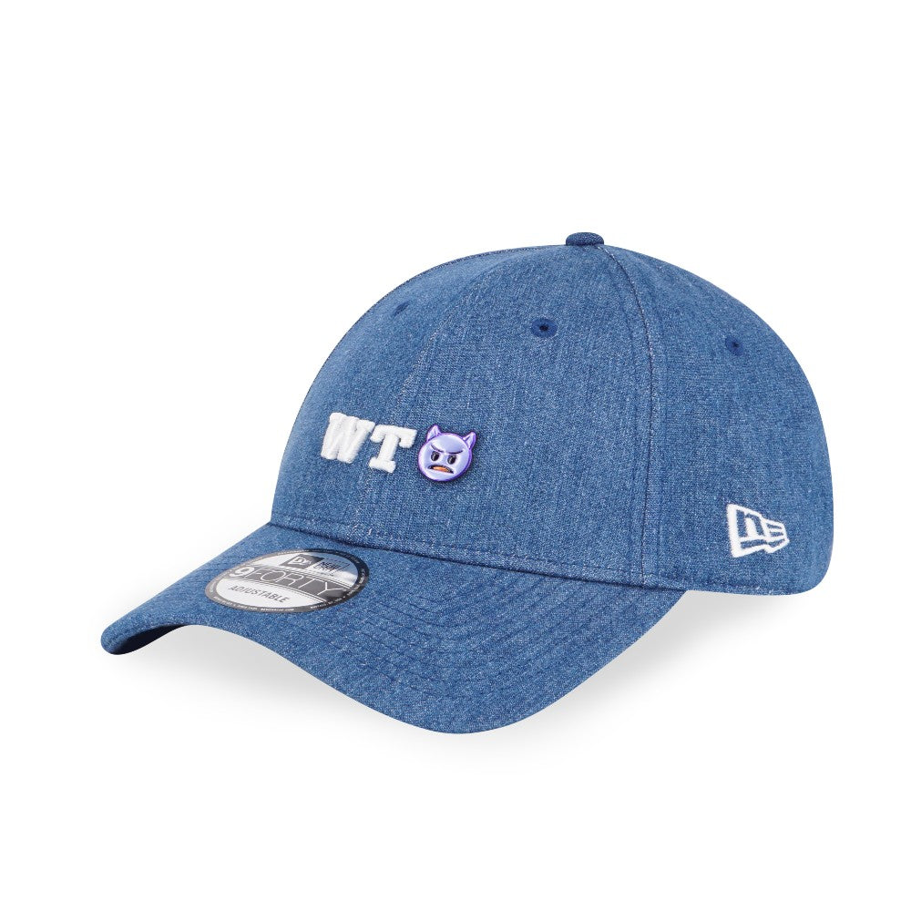 Emoji WTH Denim New Era 9Forty Snapback Cap