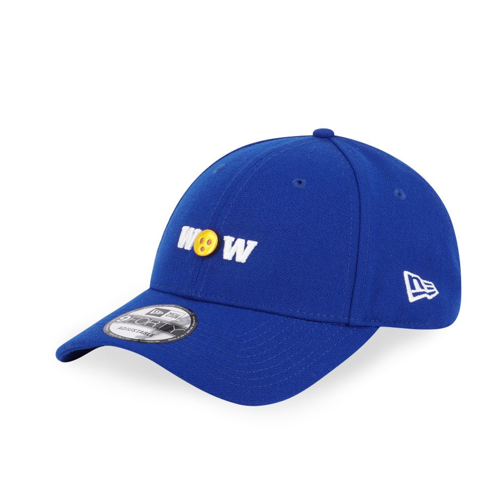 Emoji WOW New Era 9Forty Blue Snapback Cap
