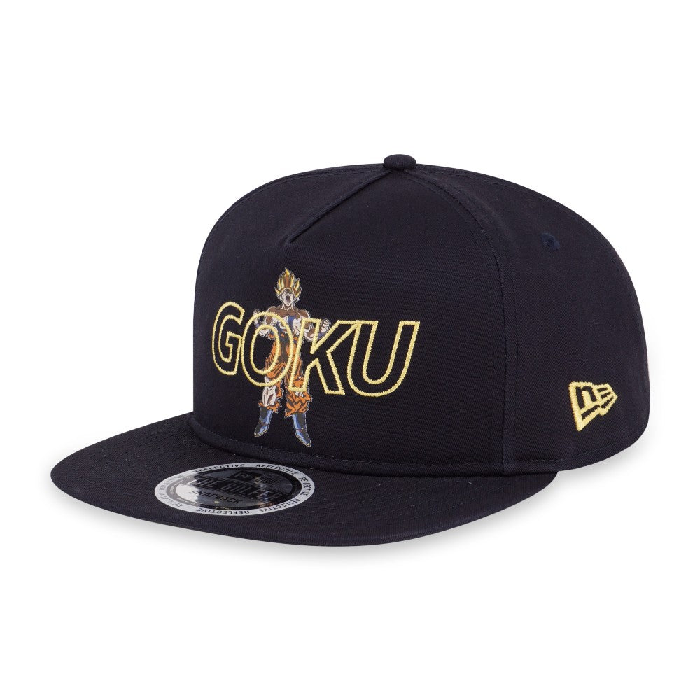 Dragon Ball Z Reflective Goku New Era The Golfer Snapback Cap – urban TEE 9756a4b8f4f