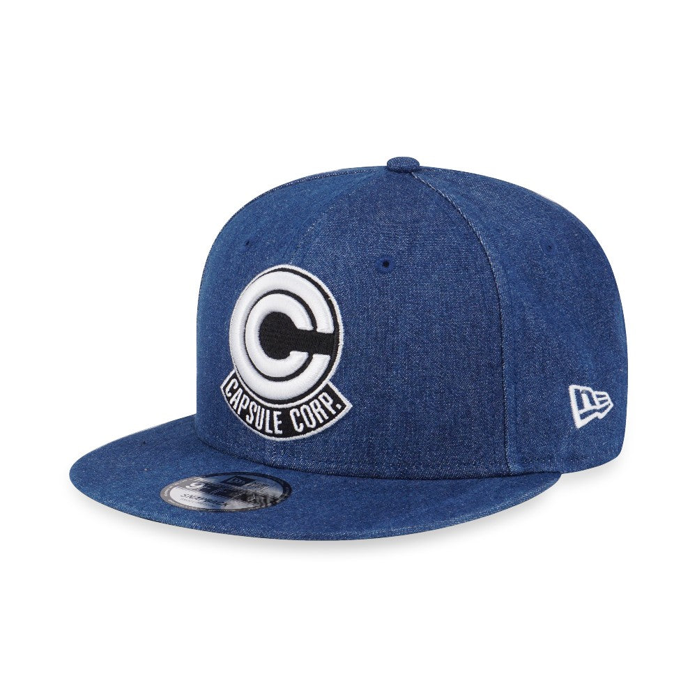 Dragon Ball Z Capsule Corp New Era 9Fifty Denim Snapback Cap – urban TEE d0c8b83b5ef
