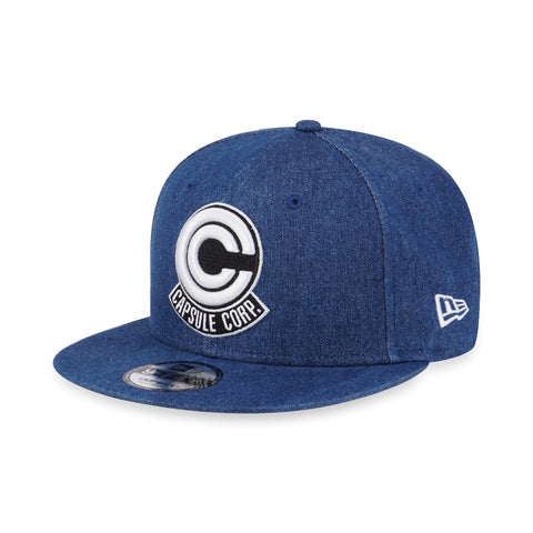 Dragon Ball Z Capsule Corp New Era 9Fifty Denim Snapback Cap