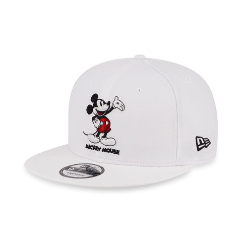 dbca58a0 Disney Mickey Mouse Presents New Era White 9Fifty Snapback Cap ...