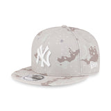MLB New York Yankees Colour Camo GID Brown 9Fifty Snapback Cap