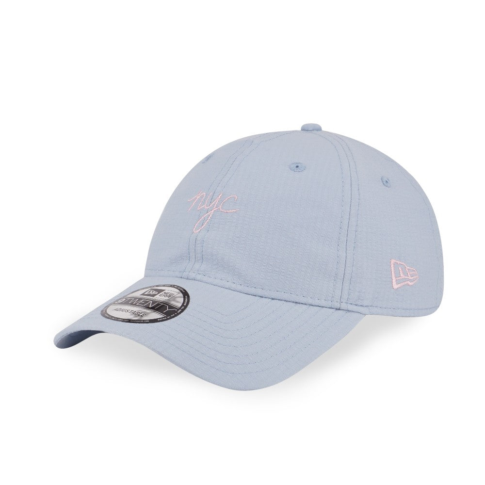 New Era Brand Seerseeker NYC Light Blue 9Twenty Strapback Cap