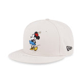 Disney Minnie Mouse Standing New Era White 59Fifty Fitted Cap