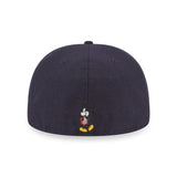 Disney Mickey Mouse Standing New Era Navy 59Fifty Fitted Cap