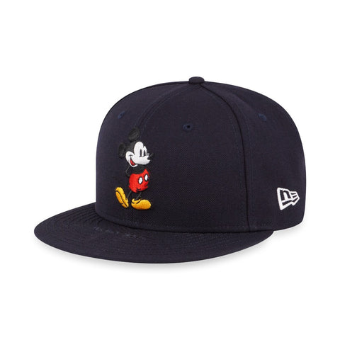Disney Mickey Mouse Standing New Era Navy 59Fifty Fitted Cap – urban TEE 2c0c6242ecc