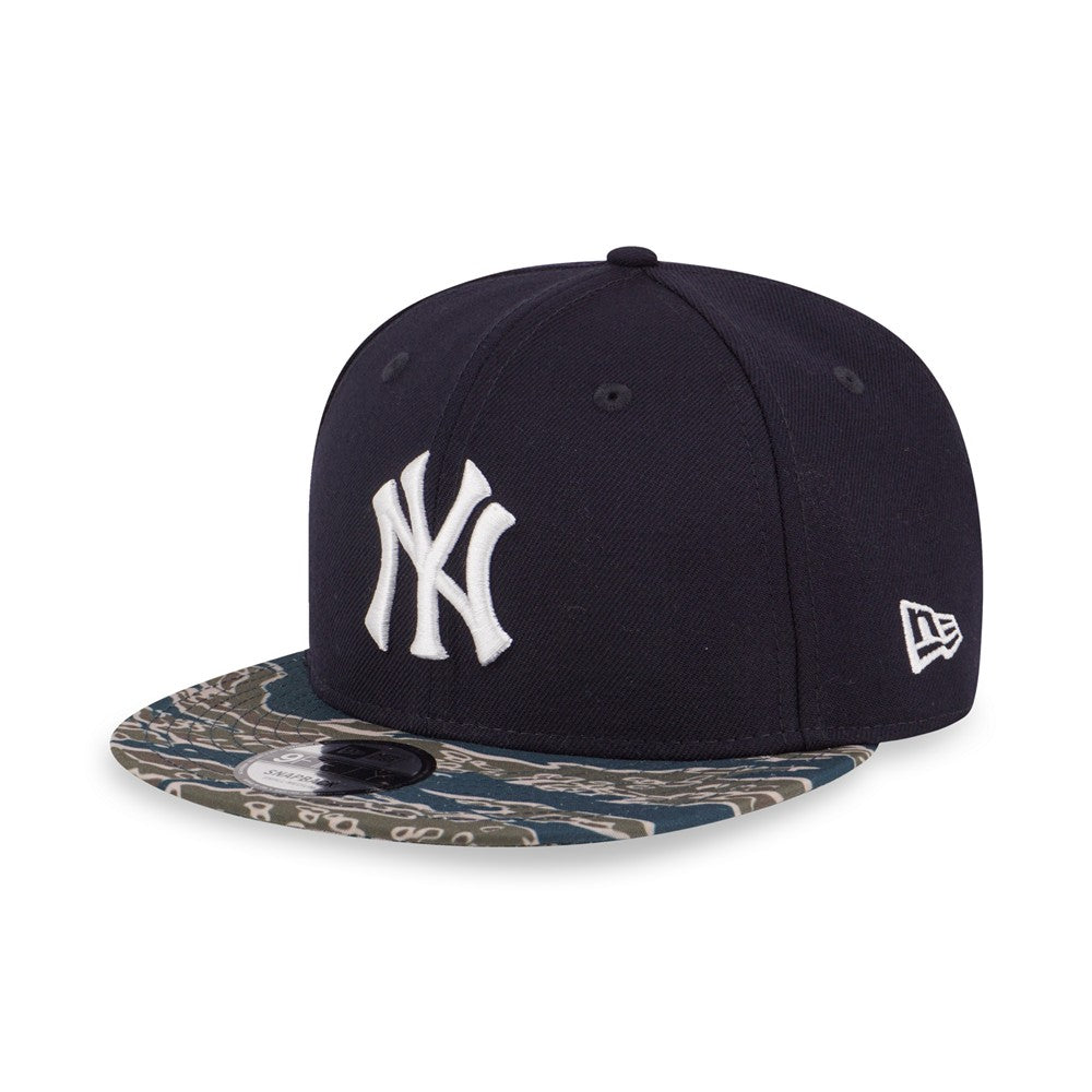 MLB New York Yankees Tiger Camo New Era 9Fifty Snapback Cap – urban TEE bfeb6d7c225b