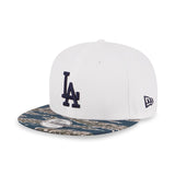 MLB Los Angeles Dodgers Tiger Camo New Era 9Fifty Snapback Cap