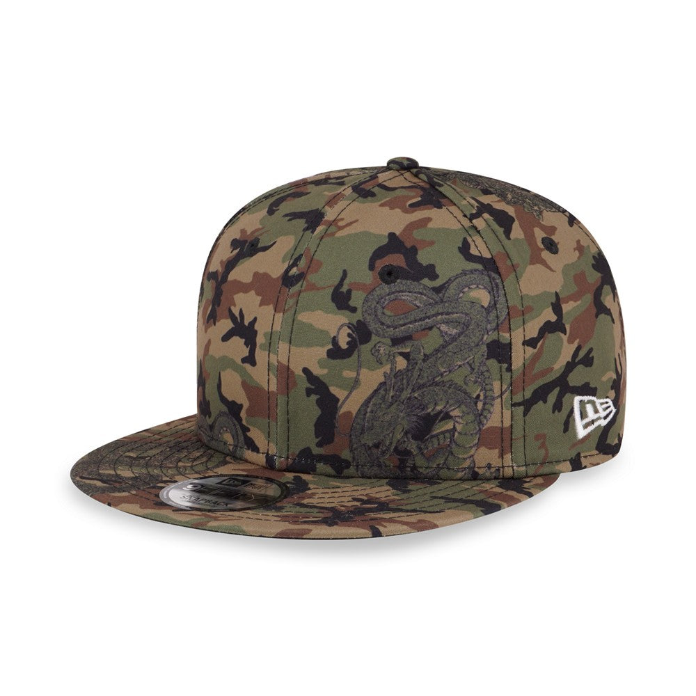 Dragon Ball Z Shenron Camo New Era 9Fifty Snapback Cap