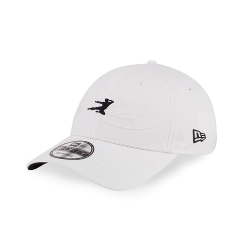 BRUCE LEE Flying Kick White New Era 9Forty Strapback Cap