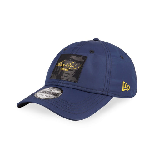 BRUCE LEE Script Label Navy New Era 9Twenty Strapback Cap