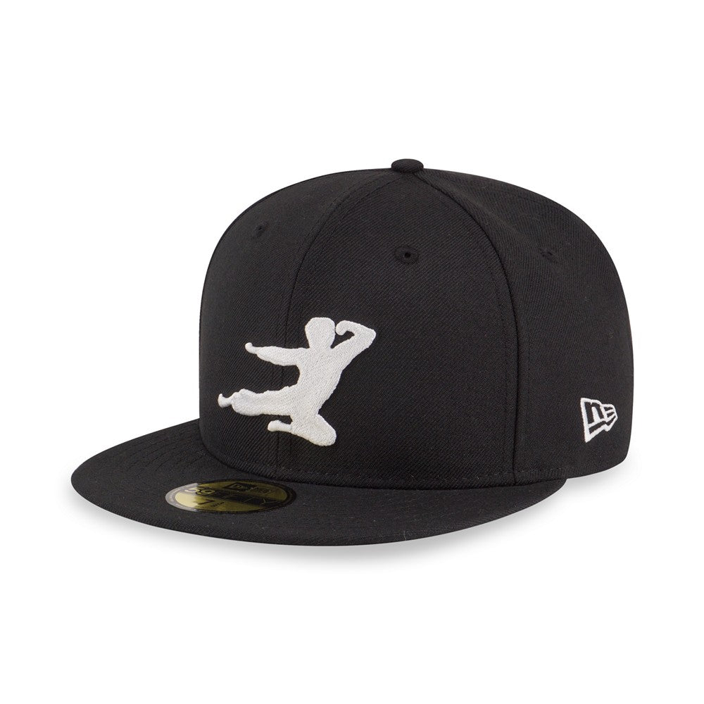 864b89a4 ... coupon code bruce lee flying kick new era 59fifty fitted cap c00bc 60bf1