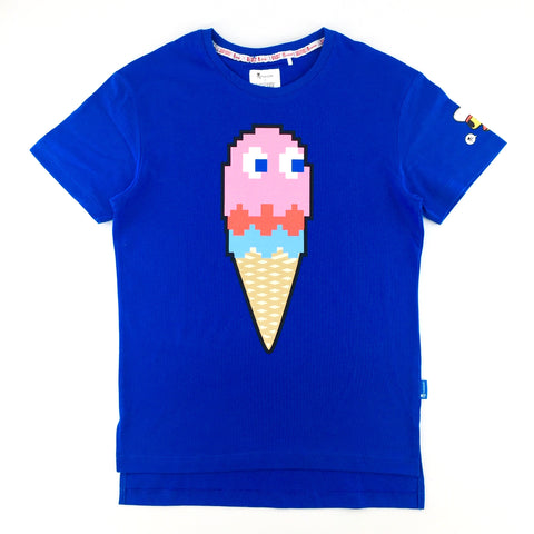 Tokidoki x Pac-Man Pinky Ice-Cream Blue Unisex T-Shirt