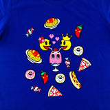 Tokidoki x Pac-Man Favorite Food Blue Female T-Shirt