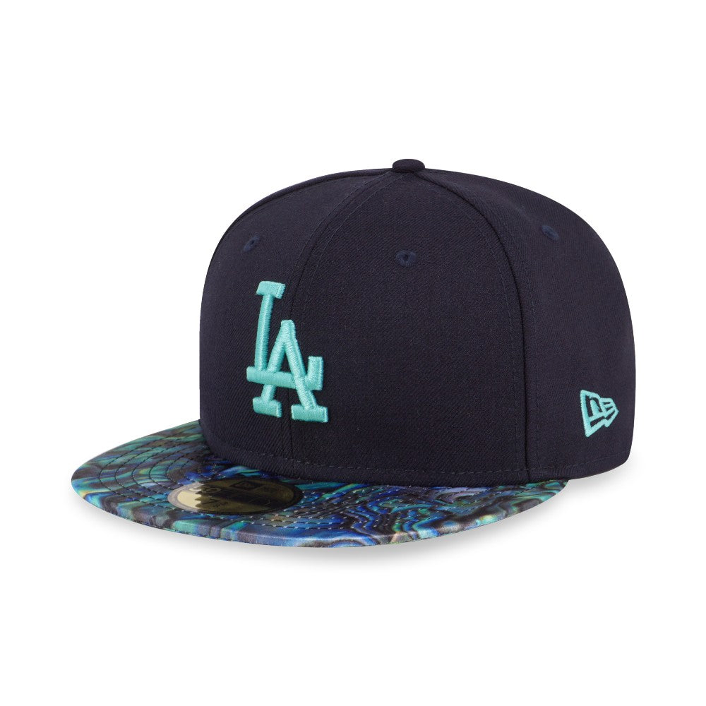MLB Los Angeles Dodgers Paua New Era 59Fifty Fitted Cap