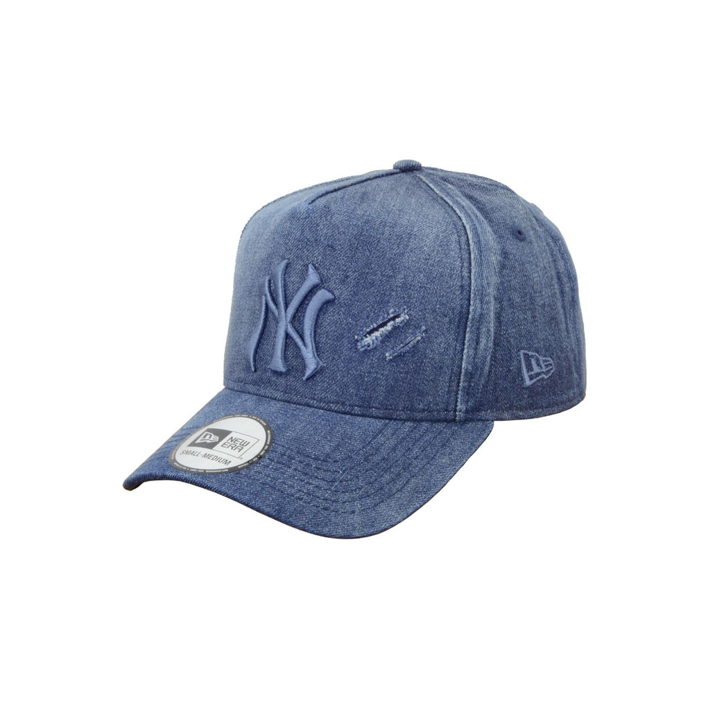 MLB New York Yankees Cooperstown Savage Denim New Era 9Forty K-Frame Cap