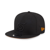 Naruto Kyuubi (Kurama) Hidden Leaf Village Symbol New Era 9Fifty Snapback Cap
