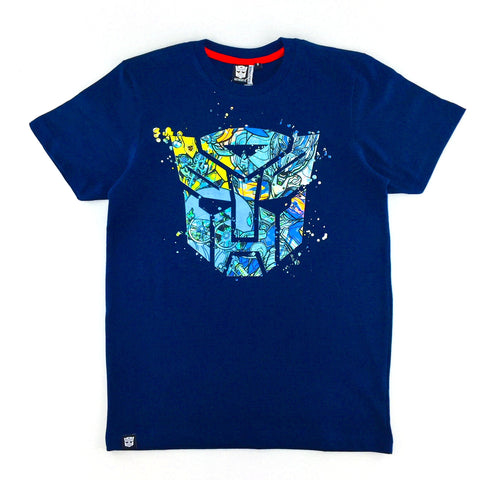 TRANSFORMERS The Last Knight Optimus & Bumblebee Logo T-Shirt