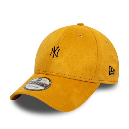 MLB New York Yankees Suede 93 Mustard New Era 9Forty Strapback Cap