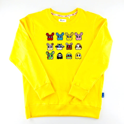 Tokidoki x Pac-Man Cactus Donutella Yellow Unisex Sweater