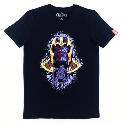 PREMIUM Marvel AVENGERS 4 END GAME Thanos Sequin T-Shirt