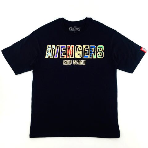 PREMIUM Marvel AVENGERS 4 END GAME Block Title Oversize T-Shirt