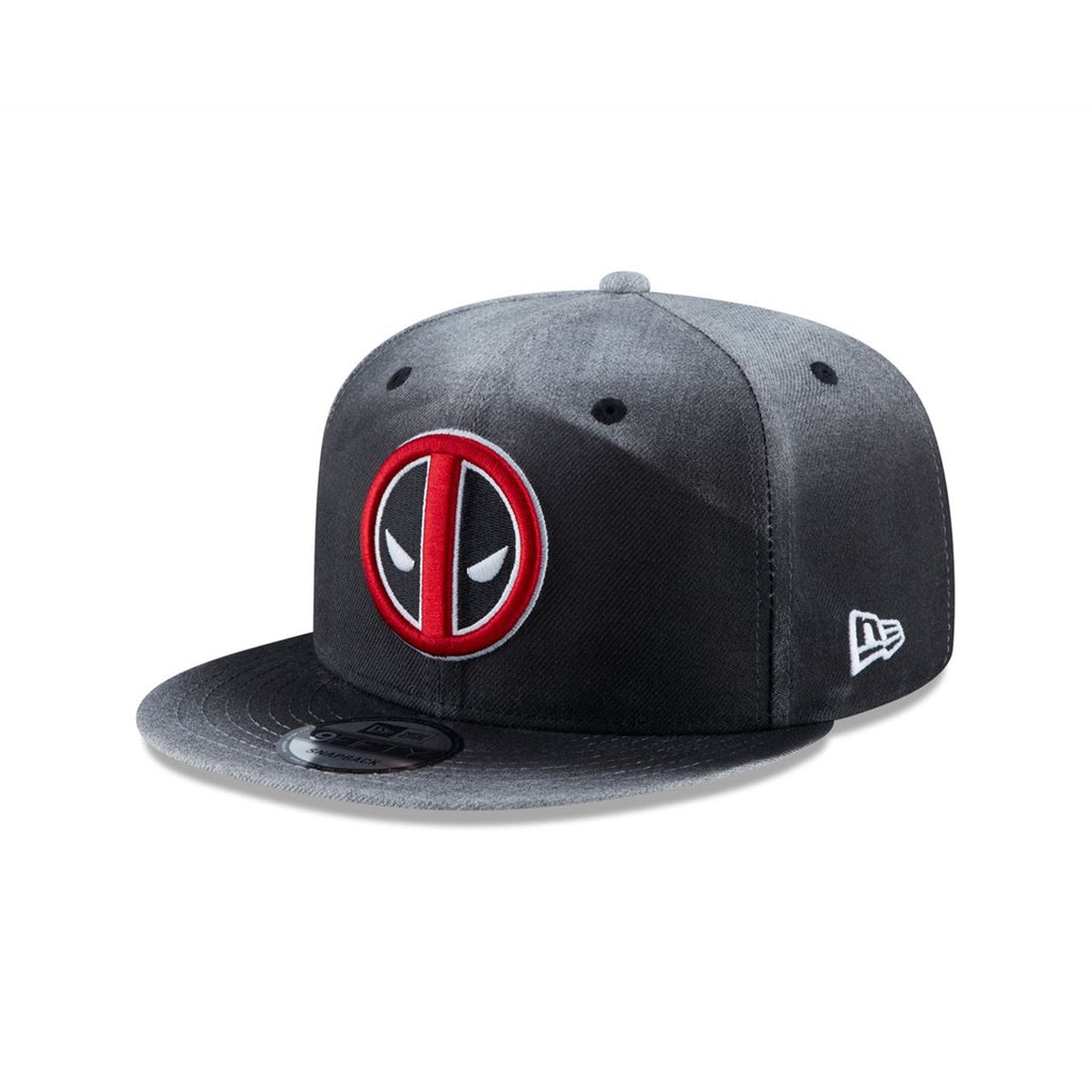 Marvel Deadpool Angry Symbol Ombre New Era 9Fifty Snapback Cap