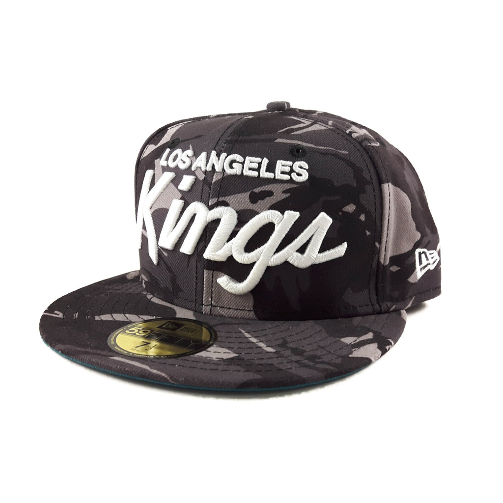 NHL Los Angeles Kings Black Camo New Era 59Fifty Fitted Cap