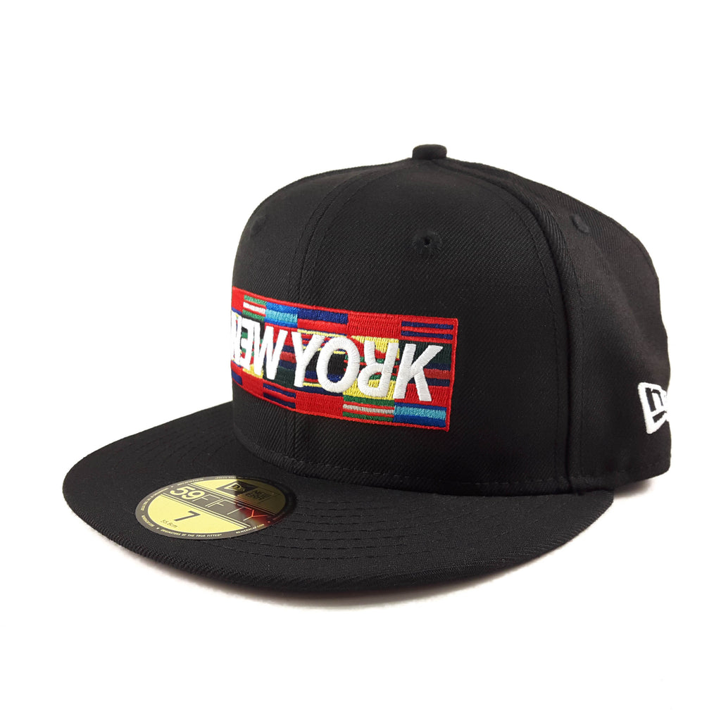 New Era Band New York Flags 59Fifty Fitted Cap