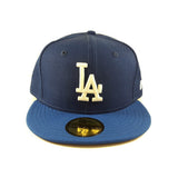 MLB Los Angeles Dodgers LTR Blue New Era 59Fifty Fitted Cap