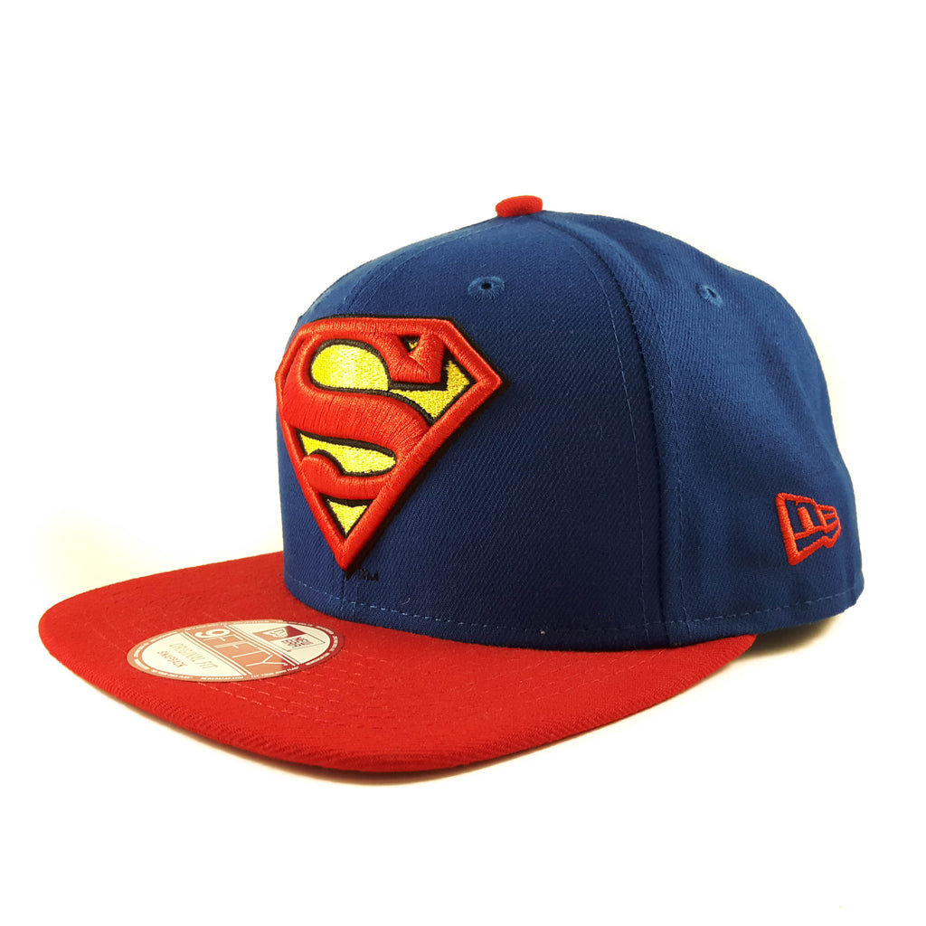 Hero Sider DC Comics Superman New Era 9Fifty Snapback Cap