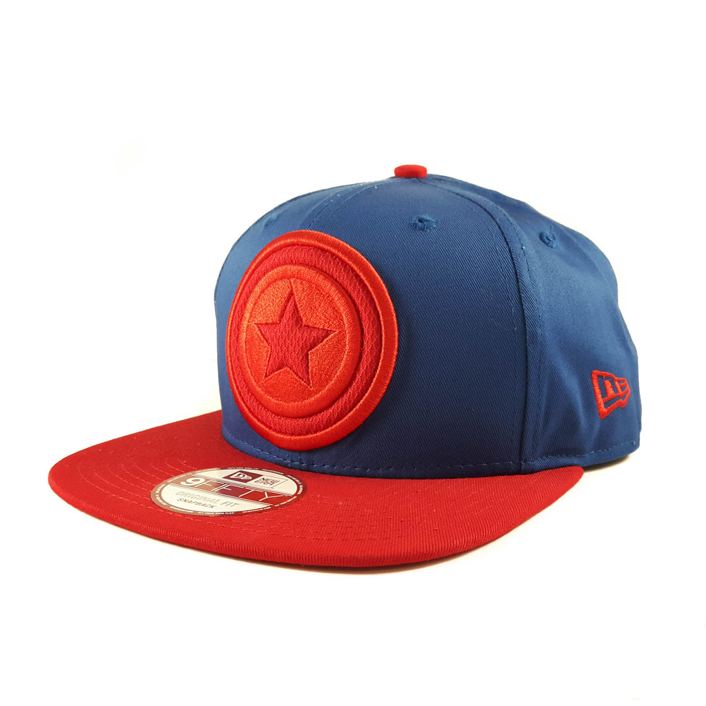 Hero Fill Marvel Captain America New Era 9Fifty Snapback Cap