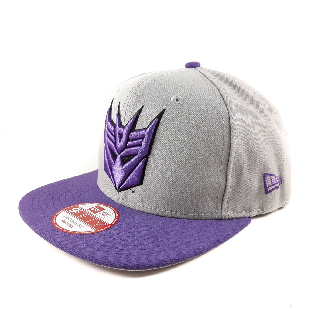 Quarter Sublimated Transformers Decepticons New Era 9Fifty Snapback Cap
