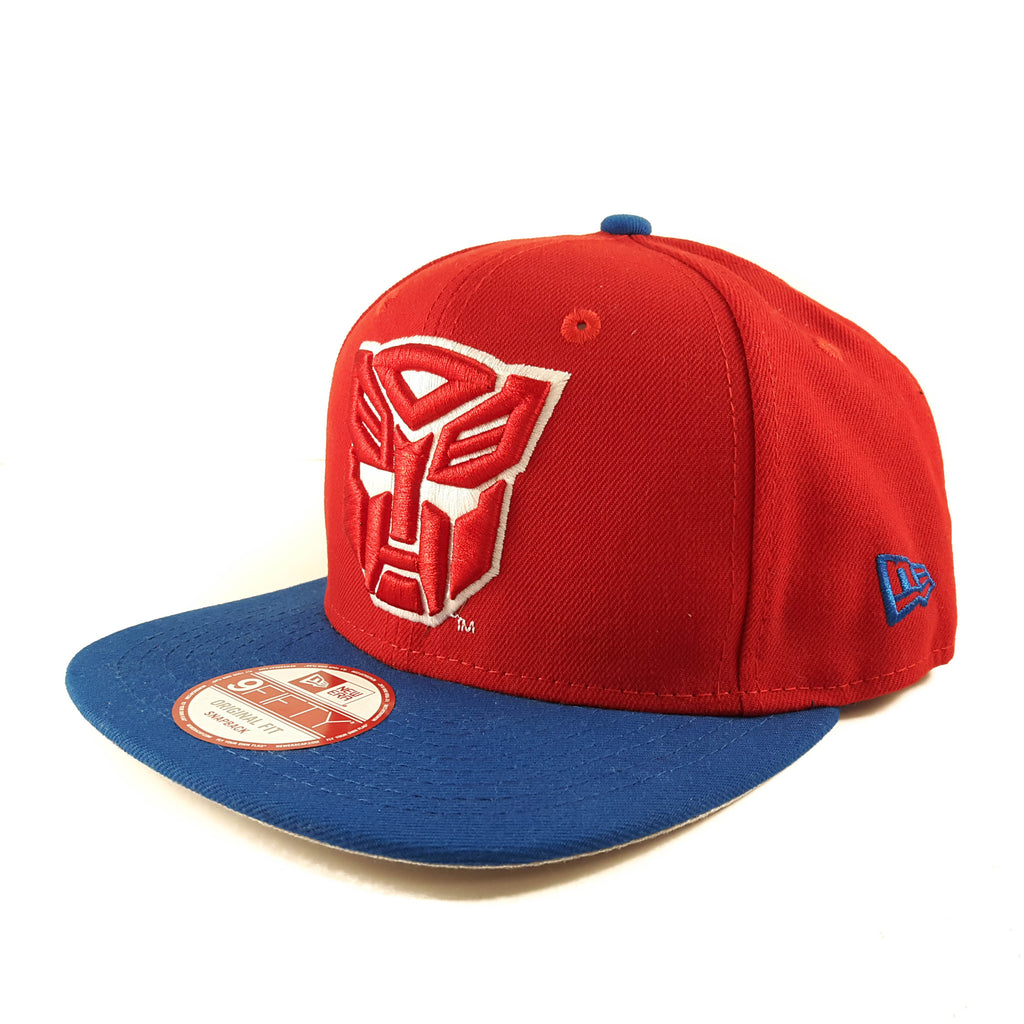 Quarter Sublimated Transformers Autobots New Era 9Fifty Snapback Cap